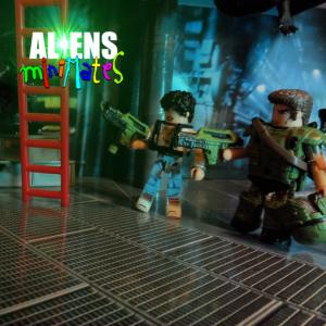 Aliens Minimates Hicks Ripley Title 20
