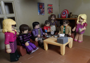Big Bang Theory Minimates 17