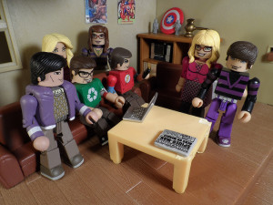 Big Bang Theory Minimates 19
