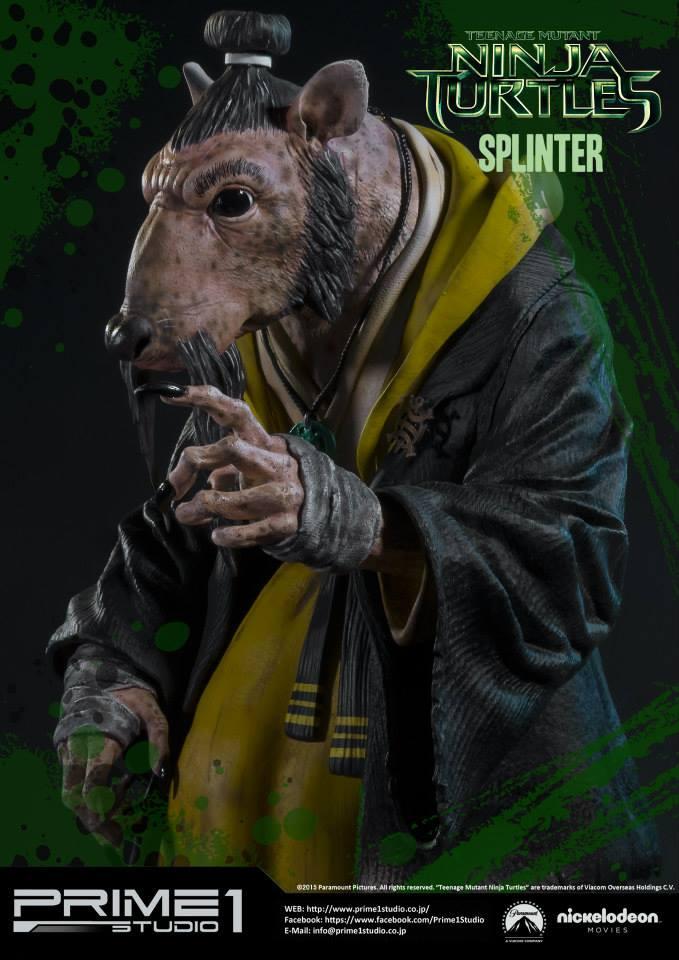 tmnt movie splinter coming from prime 1 studio needless