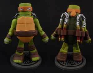 Teenage Mutant Ninja Turtles Minimates Michelangelo