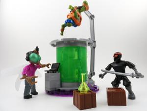 TMNT Mega Bloks Mutation Lab 16