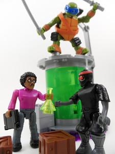 TMNT Mega Bloks Mutation Lab 18
