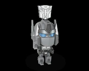 SILVER OPTIMUS PRIME Bot
