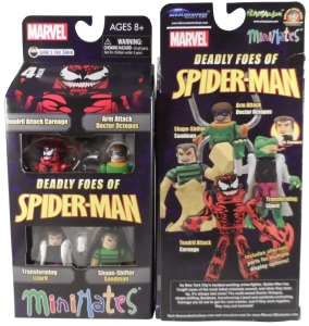 Deadly Foes Spiderman 01 MOC