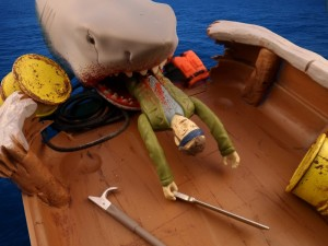 Jaws Reaction Figures Bloody Shark 13